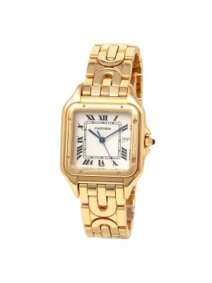 Cartier Panthere 18k Yellow Gold Swiss Quartz Ladies Watch 1060 2