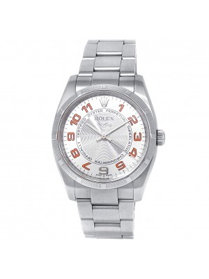 Rolex Air-King Stainless Steel Oyster Automatic Silver Men's Watch 114200