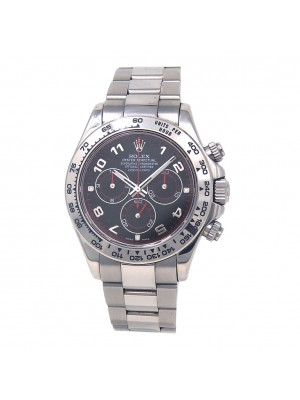 Rolex Daytona Z Serial 18k White Gold Automatic Chronograph Men's Watch 116509