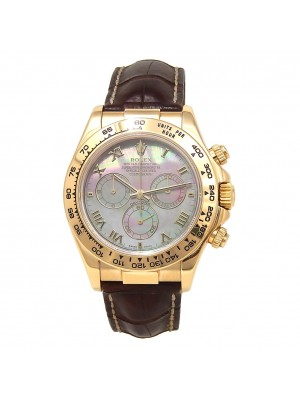 Rolex Daytona 18k Yellow Gold Automatic Chronograph Men's Watch 116518