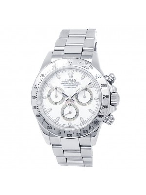 Rolex Daytona Stainless Steel Oyster Automatic White Men's Watch 116520