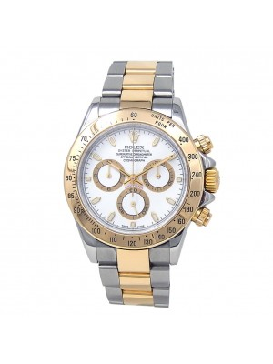 Rolex Daytona K Serial 18k Yellow Gold & Stainless Steel Automatic Watch 116523