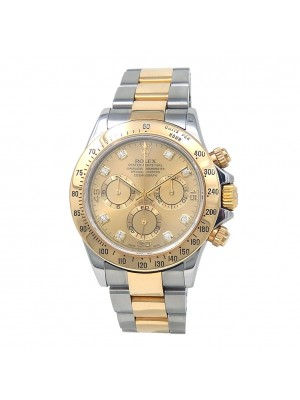 Rolex Cosmograph Daytona (P Serial) 18k Yellow Gold & S/S Automatic 116523