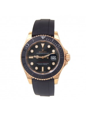 Rolex Yacht-Master 18k Everose Gold Automatic Men's Watch 116655