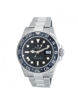 Rolex GMT-Master II (M Serial) Stainless Steel Automatic Men's Watch 116710