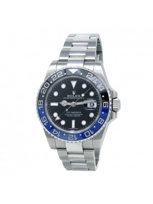 RolexGMT-Master II Stainless Steel Automatic Men's Watch 116710BLNR
