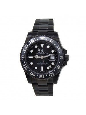 Rolex GMT-Master II (G Serial) Black PVD Stainless Steel Automatic 116710LN