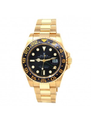 Rolex GMT-Master II (M Serial) 18k Yellow Gold Automatic Men's Watch 116718LN