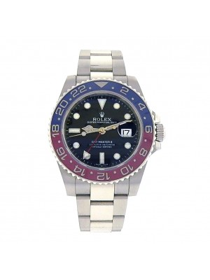 Rolex GMT Master II 18k White Gold Automatic Men's Watch 116719