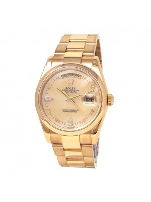 Rolex Day-Date (P Serial) 18k Yellow Gold Automatic Men's Watch 118208