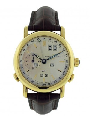 Ulysse Nardin GMT +- Perpetual 321-22-31 Yellow Gold Automatic Mens Swiss Watch