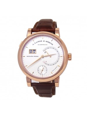 A.Lange & Sohne Lange 31 18k Rose Gold Manual Men's Watch 130.032F