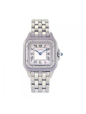 Cartier Panthere Stainless Steel Roman Numbers Quartz Movement Ladies Watch 1320