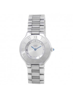 Cartier Must 21 Stainless Steel Women's Watch Quartz 1330