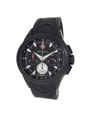 Bertolucci Forza Stainless Steel Automatic Black Mens Watch 1394.51.42.108D7.901