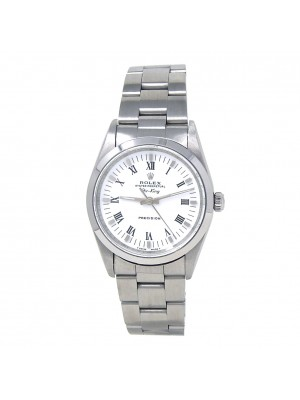Rolex Air-King Stainless Steel Oyster Automatic White Men's Watch 14000