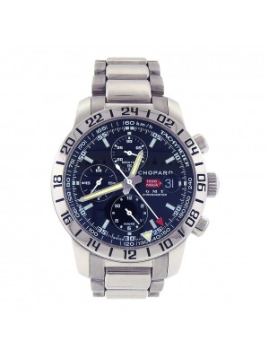 Chopard Mille Miglia GMT Stainless Steel Automatic Chronograph Watch 158992-3001