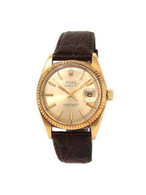 Rolex Datejust (1 Serial) 18k Yellow Gold Automatic Men's Watch 1601
