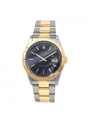 Rolex Datejust Stainless Steel & 18K Yellow Gold Automatic Midsize Watch 16263