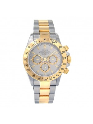Rolex Daytona 18k Yellow Gold & Stainless Steel Automatic Chronograph 16523