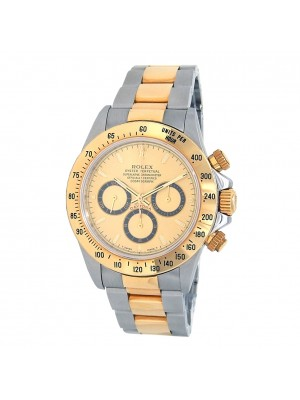 Rolex Daytona (T Serial) 18k Yellow Gold & Stainless Steel Automatic Watch 16523
