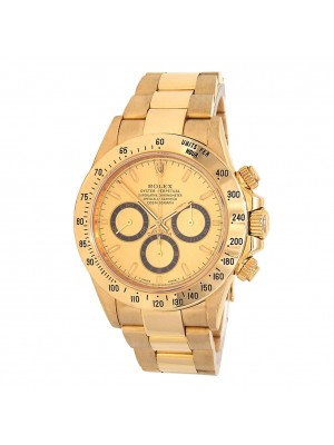 Rolex Daytona Zenith (T Serial) 18k Yellow Gold Automatic Men's Watch 16528