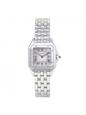 Cartier Panthere 18k White Gold Swiss Quartz Ladies Watch 1660