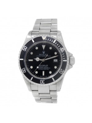Rolex Sea-Dweller Stainless Steel Oyster Automatic Black Men's Watch 16600