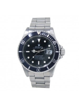 Rolex Submariner (X Serial) Stainless Steel Men's Watch Automatic 16610