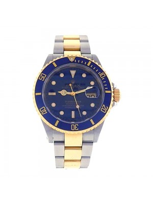 Rolex Submariner Stainless Steel & 18k Yellow Gold Automatic Men's Watch 16613