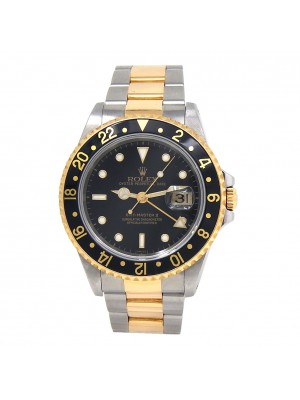 Rolex Submariner Stainless Steel and 18k Yellow Gold Automatic Men's Watch 16613