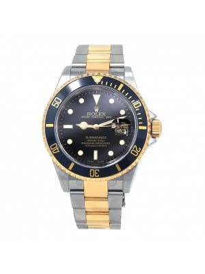 Rolex Submariner (D Serial) Stainless Steel & 18k Yellow Gold Automatic 16613