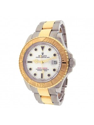 Rolex Yacht Master Stainless Steel and Gold Date Display Automatic Watch 16623
