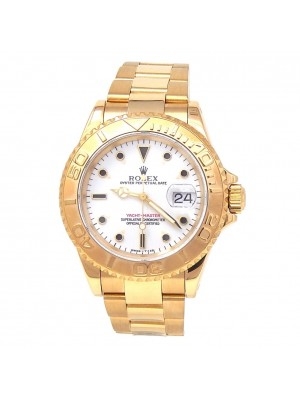 Rolex Yacht-Master 18k Yellow Gold Automatic Men's Watch 16628
