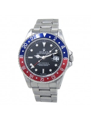 Rolex GMT-Master II (A Serial) Stainless Steel Automatic Men's Watch 16710