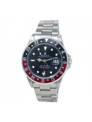Rolex GMT-Master II Coke (A Serial) Stainless Steel Automatic Men's Watch 16710
