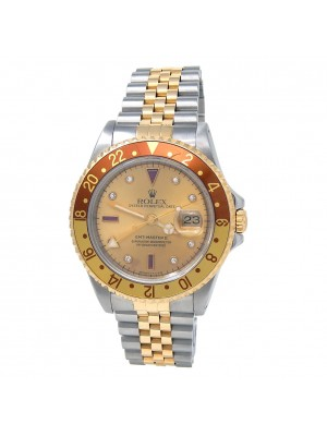 Rolex GMT-Master II (S Serial) Stainless Steel & 18k Yellow Gold Automatic 16713