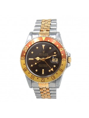 Rolex GMT-Master Root Beer (6 Serial) 18k Yellow Gold & Stainless Steel 16753