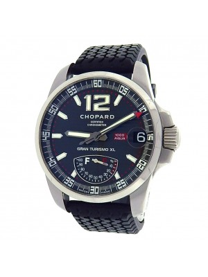 Chopard Mille Miglia GT XL 168457-3005 Titanium Rubber Auto Black Men's Watch