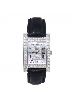 Chopard Your Hour 18k White Gold Swiss Quartz Diamond Ladies Watch 17/3451