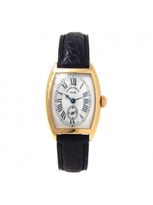 Franck Muller Mini CintreeCurvex 18k Yellow Gold Mechanical Ladies Watch 1752 S6