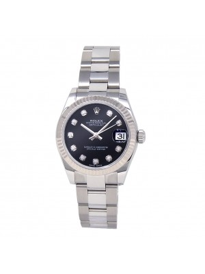 Rolex Datejust Stainless Steel Automatic Ladies Watch 178274