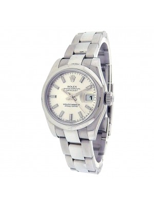 Rolex Datejust 179160 Stainless Steel Automatic Silver Ladies Watch G Serial