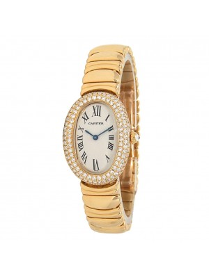 Cartier Baignoire 18k Yellow Gold Swiss Quartz Ladies Watch 1950 1