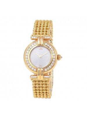 Cartier Colisee 18k Yellow Gold Swiss Quartz Ladies Watch 1980