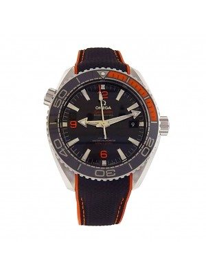 Omega Seamaster Planet Ocean 215.32.44.21.01.001 Steel Black Rubber Auto Watch