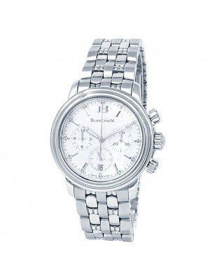 Blancpain Leman Chronograph Stainless Steel Auto White Men's Watch 2185-1127-11
