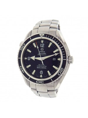 Omega Seamaster Planet Ocean 2201.50.00 Stainless Automatic Black Men's Watch