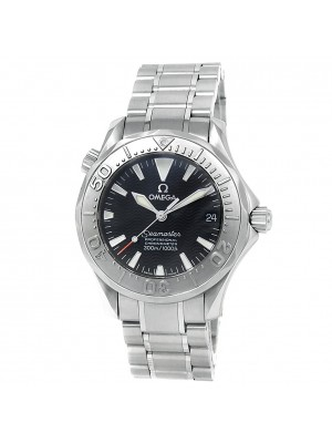 Omega Seamaster Diver Stainless Steel Automatic Black Men's Watch 2236.50.00