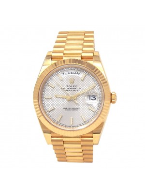 Rolex Day-Date 18k Yellow Gold President Automatic Men's Watch 228238